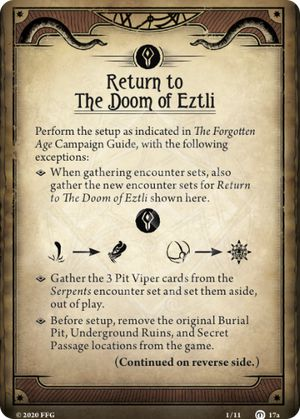 Return to The Doom of Eztli